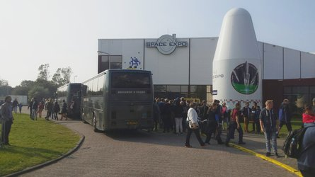 Open Day visitors at Space Expo
