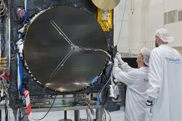 Sentinel-3 in the cleanroom