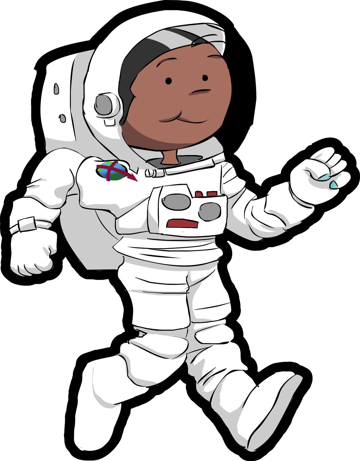 astronaut reaching out clip art - photo #41