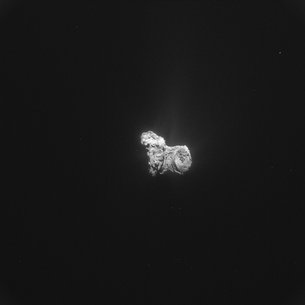 Comet on 31 October 2015 – NavCam