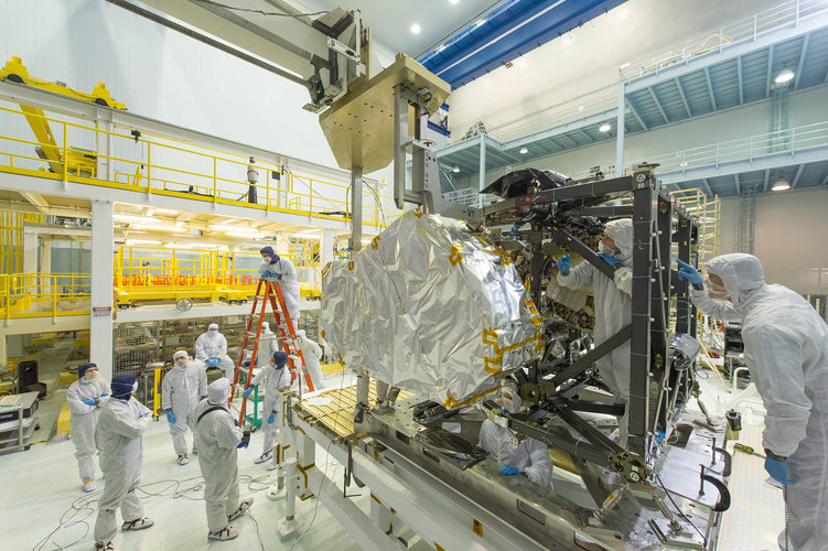 NIRSpec on James Webb Space Telescope