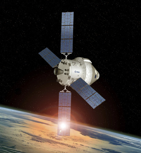 Orion with European Service Module