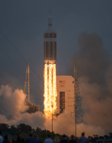 Orion first test flight launch