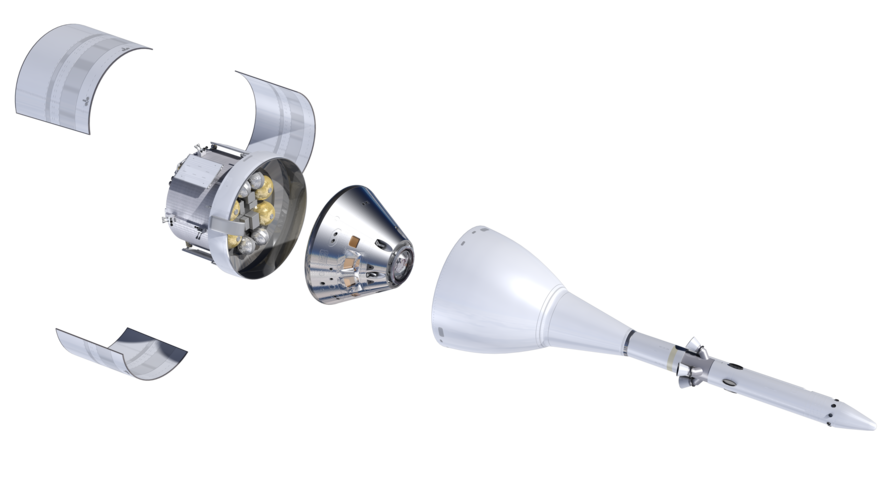 Orion spacecraft components