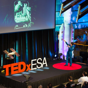 Samantha at TEDxESA