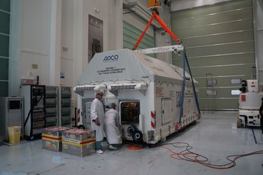 Sentinel-3A wrapped up