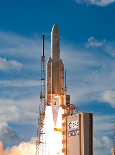 Ariane 5 ECA launch