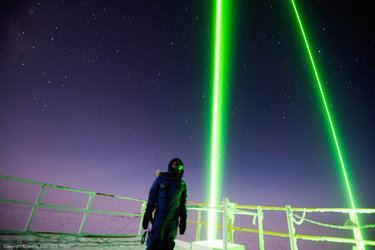 Laser research in Antarctica