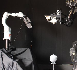 Camera on robot arm