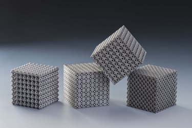 Examples of 3D-printed lattices