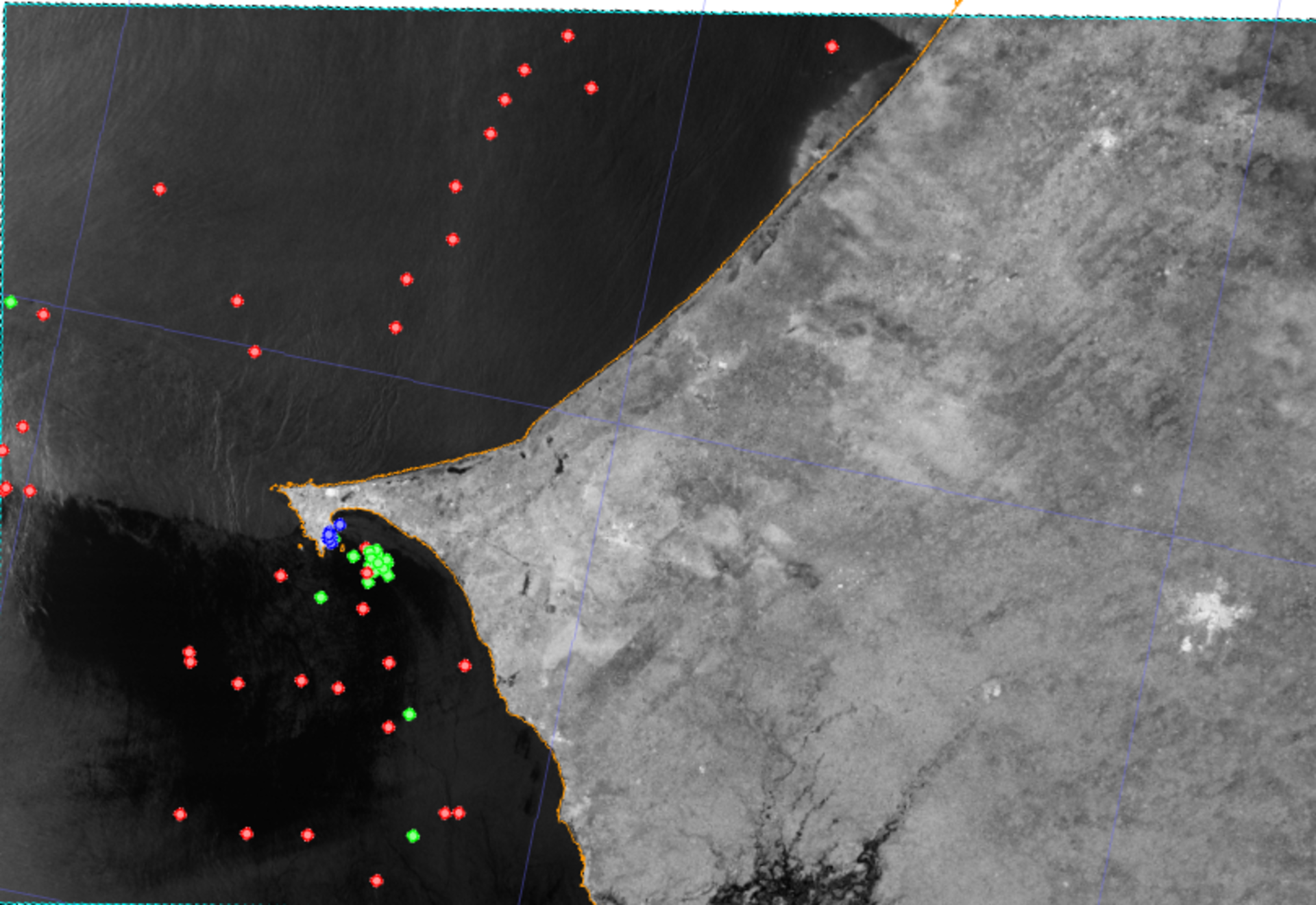 Fishing surveillance in West Africa