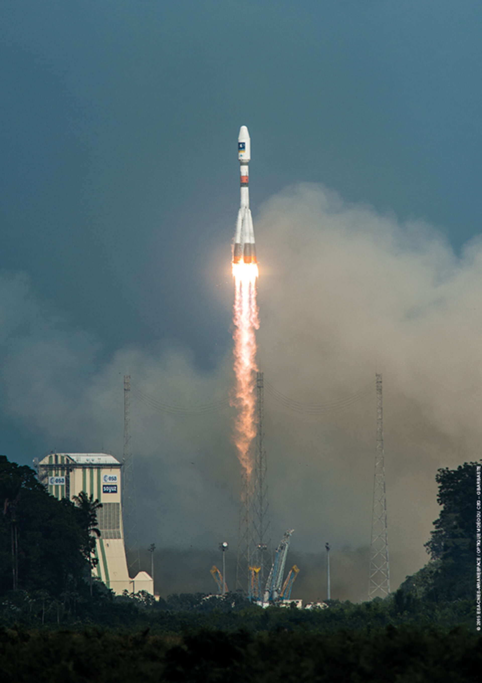 Galileo Soyuz VS13 liftoff