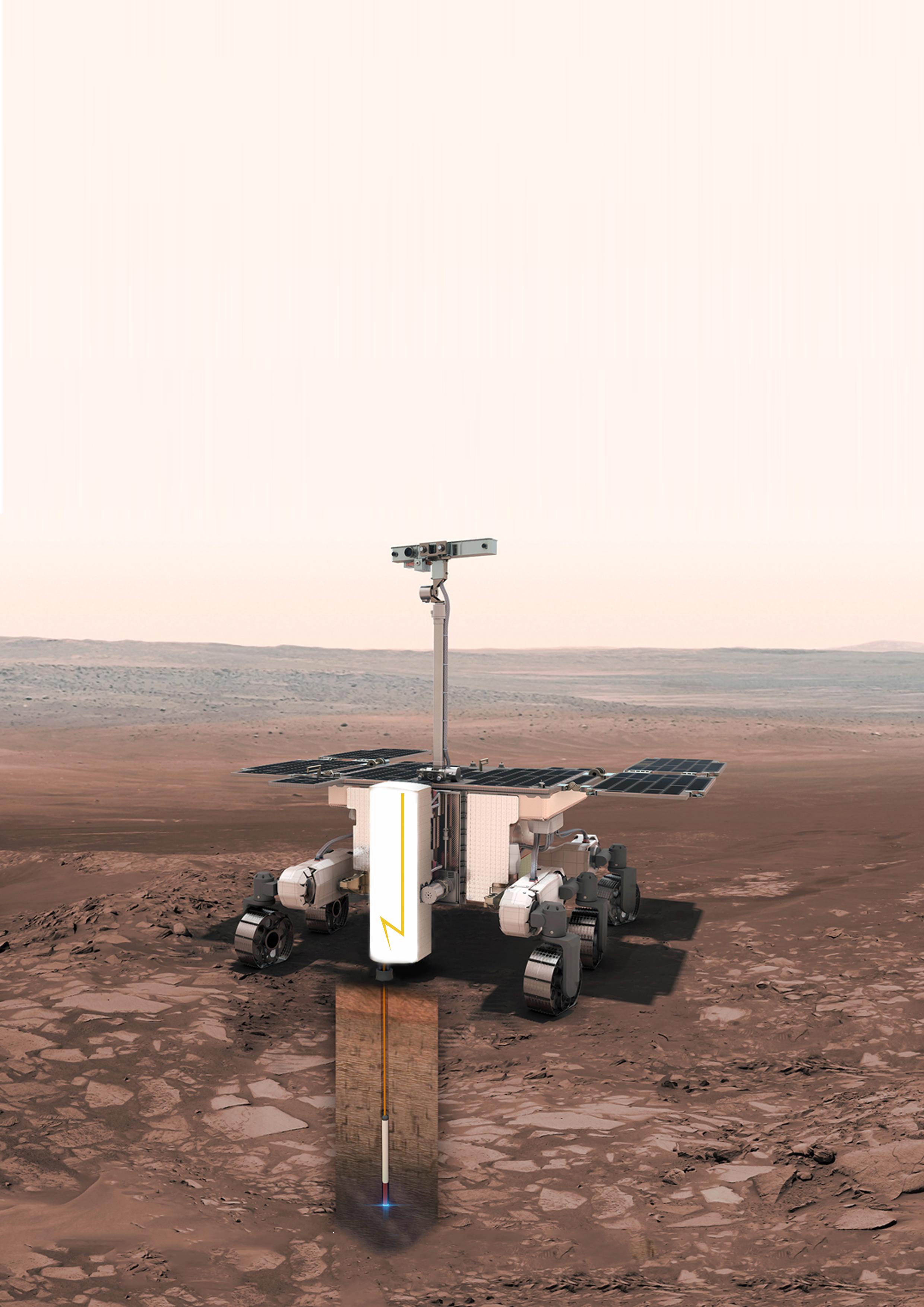 mars rover drill status - photo #12