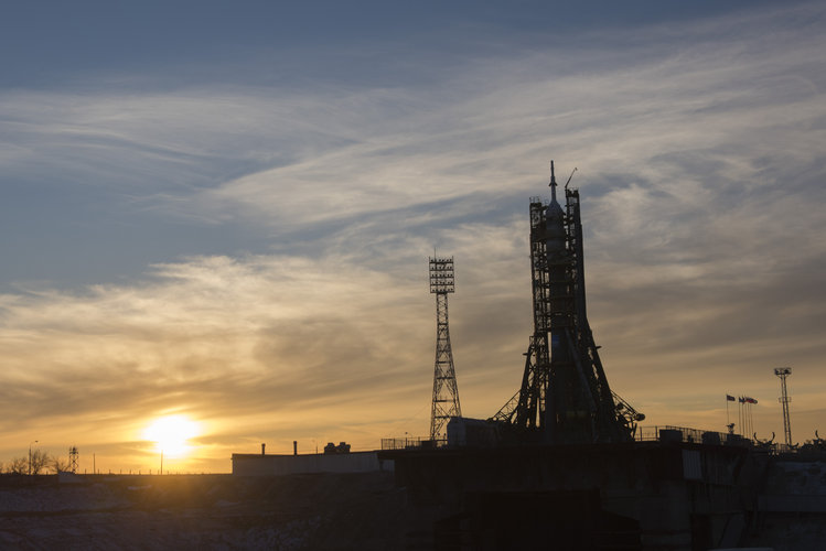 Soyuz TMA-19M spacecraft ready for launch