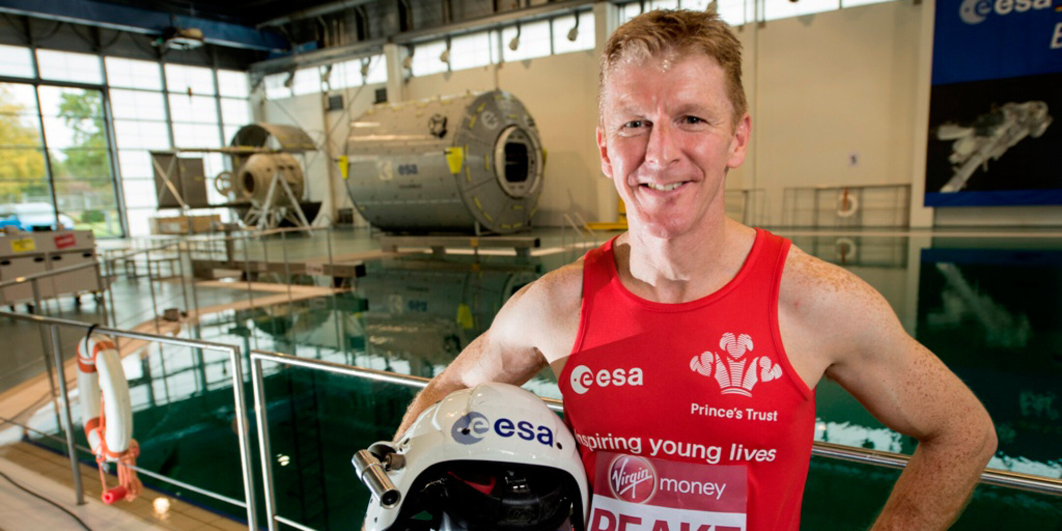 Tim Peake at EAC