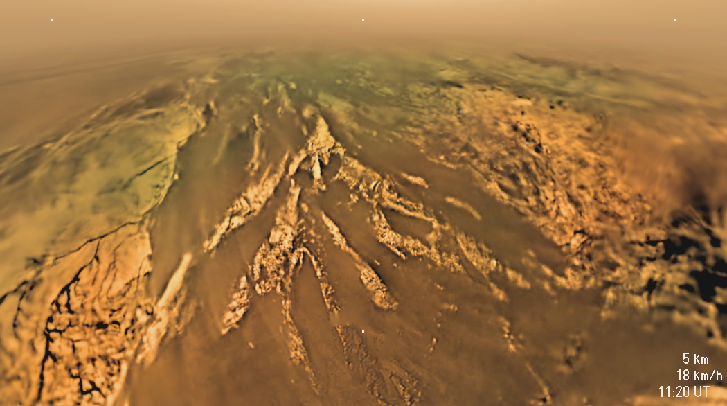 Huygens_s_descent_to_Titan_s_surface on 25 Earth Day Activities For Kids