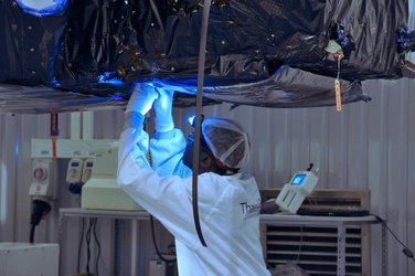 Checking Sentinel-3A's multilayer insulation