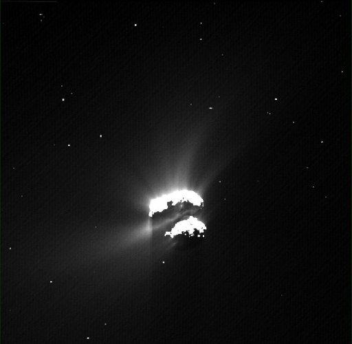 Comet on 16 December 2015 – OSIRIS wide-angle camera