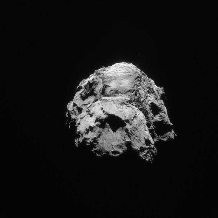VCSE - Rosetta NAVCAM képe január21.-én - ESA / Rosetta / NAVCAM - CC BY-SA 3.0 IGO