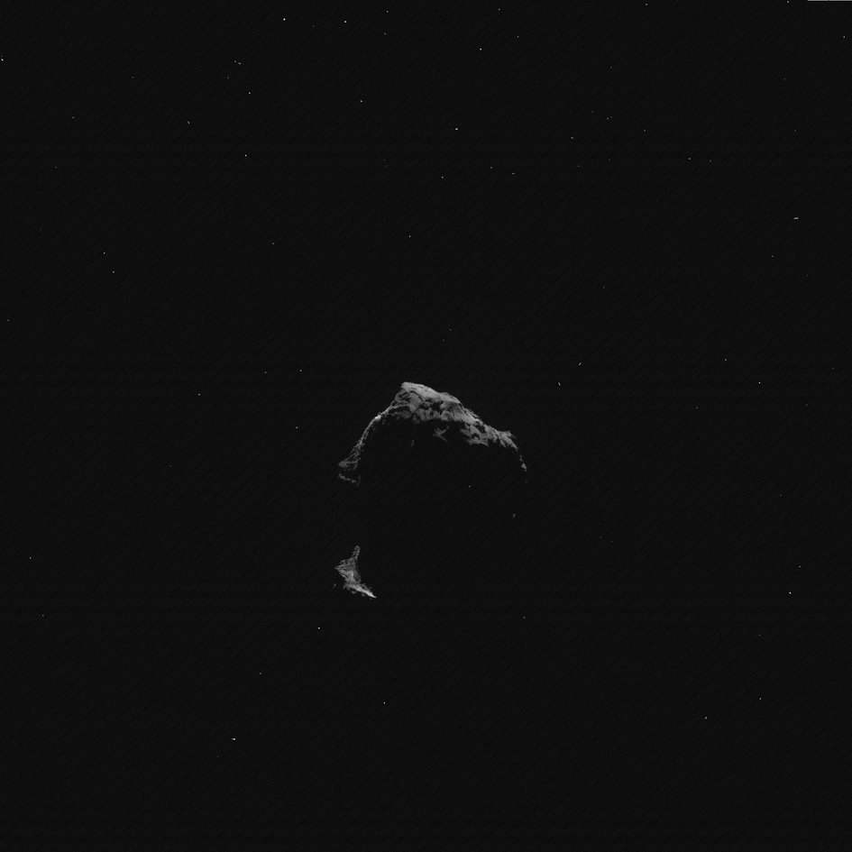 Comet on 26 December 2015 – OSIRIS wide-angle camera