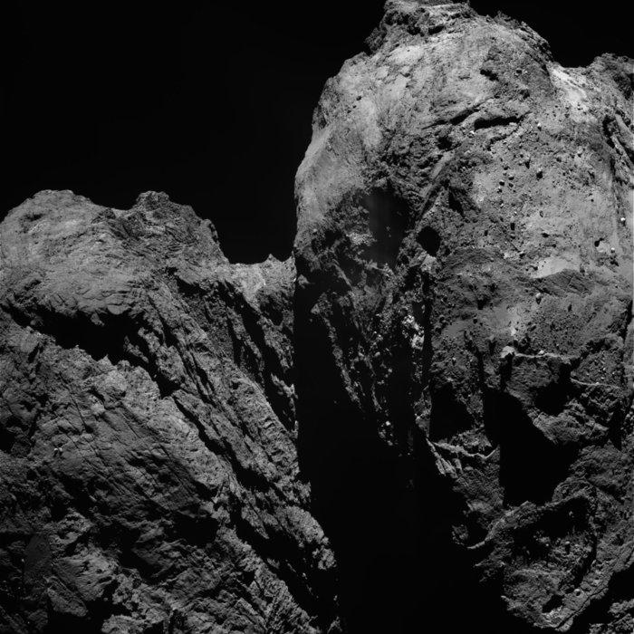 VCSE - OSIRIS kamera felvétle január 27-én - ESA / Rosetta / MPS Osiris Csapat