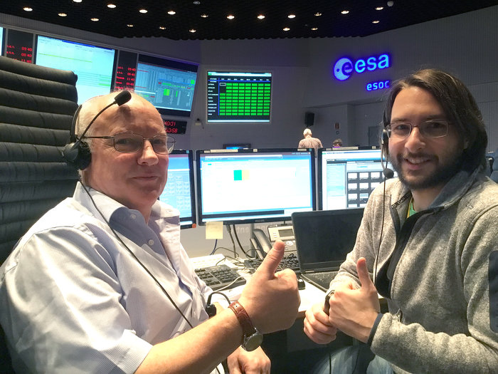 This week, the Sentinel-1 mission control team at ESOC, Darmstadt, Germany, began intensive simulation training for the launch of Sentinel-1B, planned for April.
