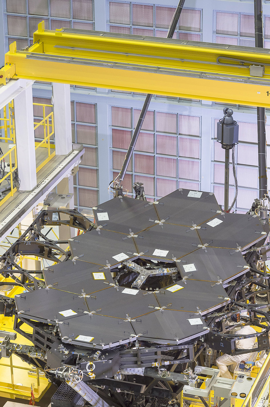 JWST mirror taking shape