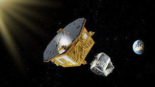 Under control of the mission team at ESOC, LISA Pathfinder discarded its propulsion module on 22 January 2016.