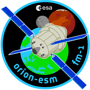 Orion European Service Module Flight Model-1 logo