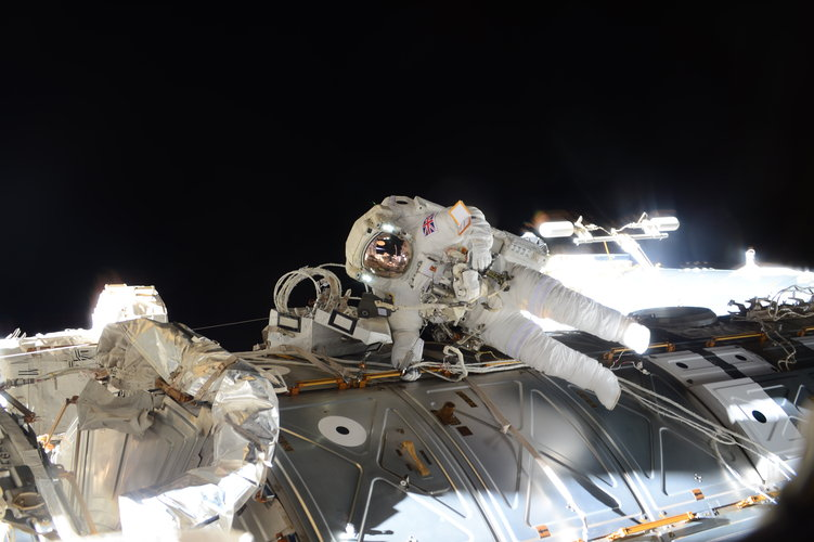 Principia spacewalk