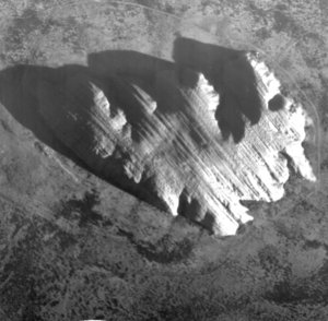 Uluru imaged by Proba-1 HRC