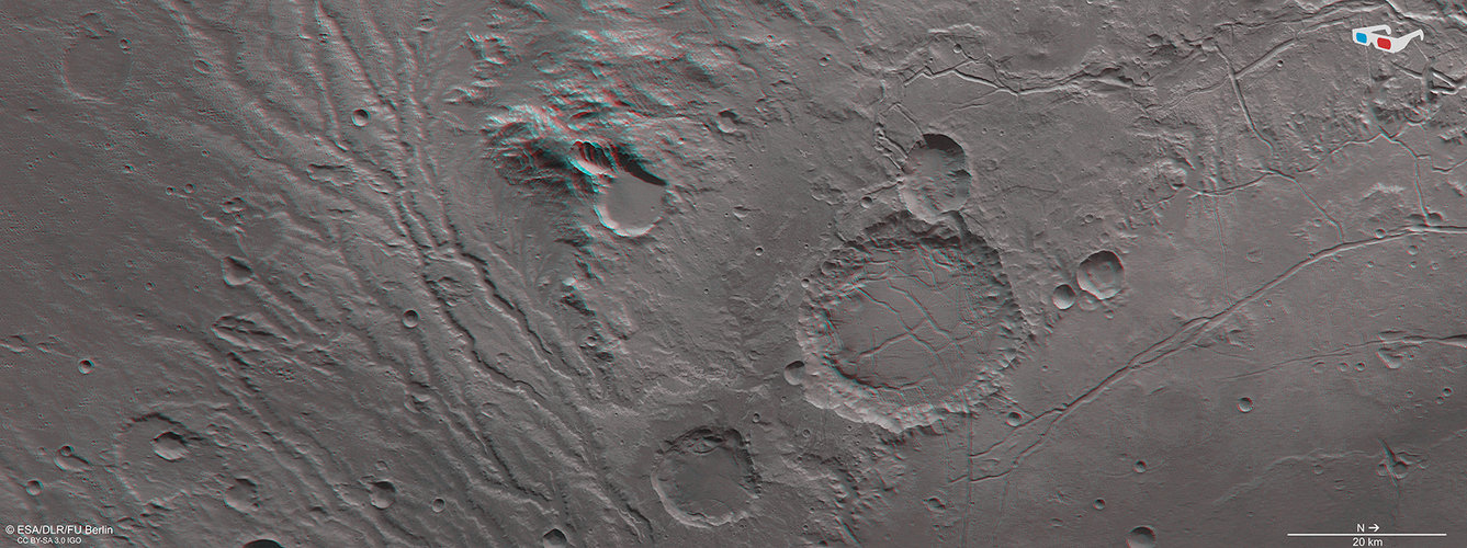 3D view in Arda Valles