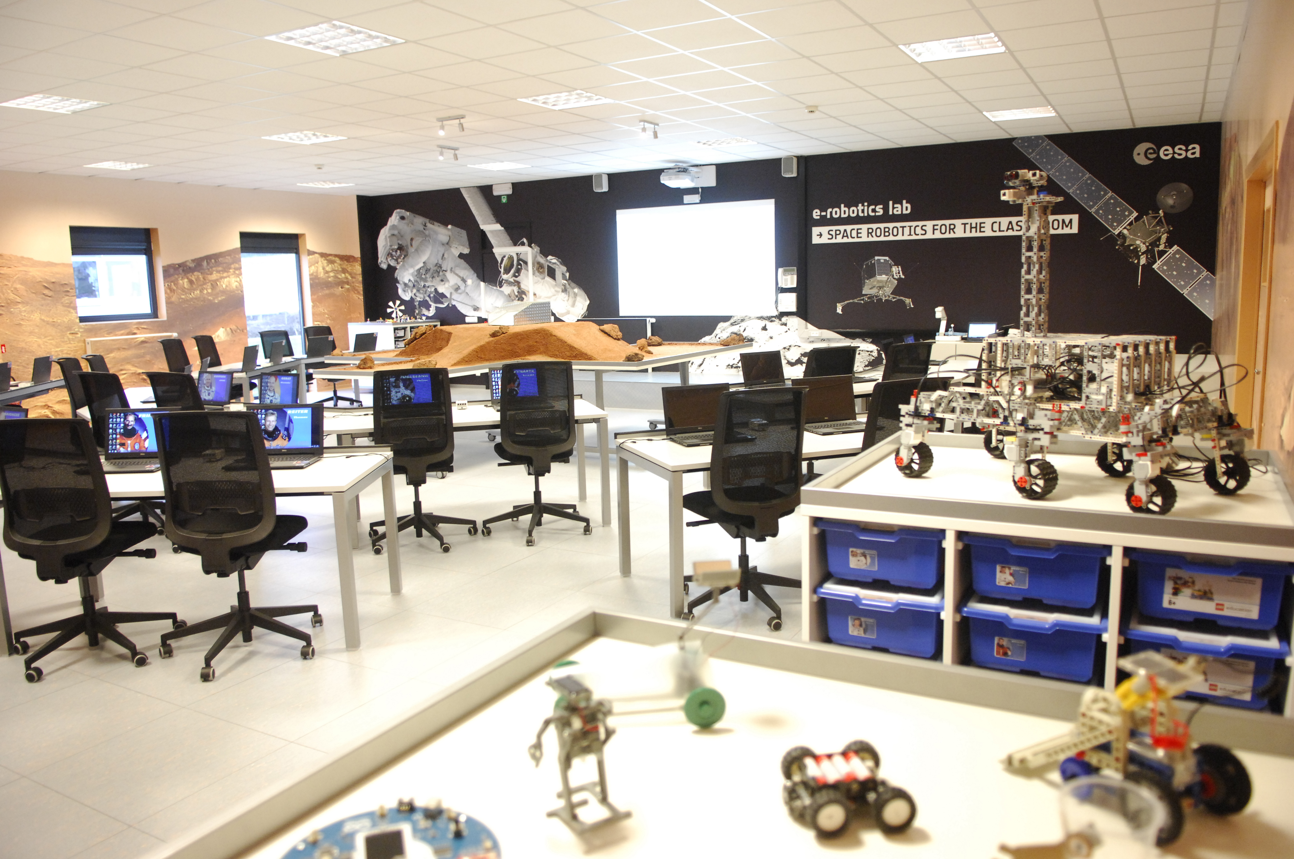 Applications Open For Esa Robotics And Automation Teacher Training