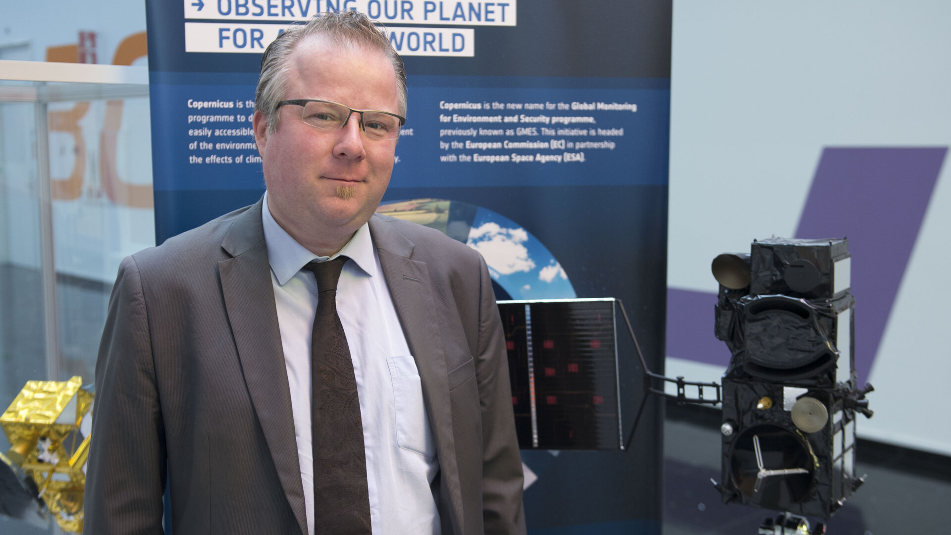 Jean-François Flamand: Sentinel-3 Product Assurance and Safety Manager