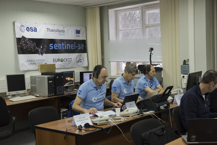 Sentinel-3A full dress rehearsal of the countdown