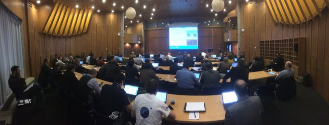 The AIM industry days held at ESTEC were well attended