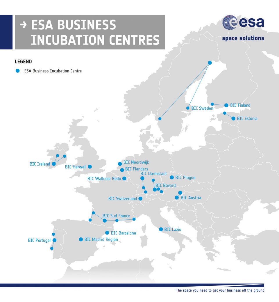 ESA Business Incubation Centres