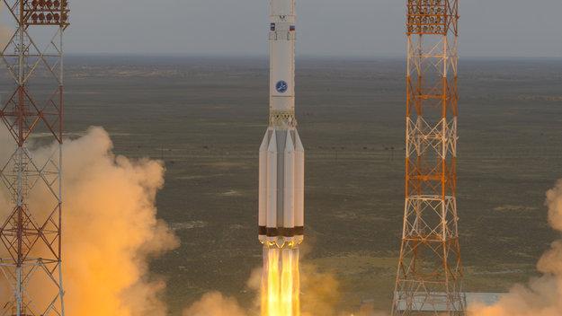 ESA's ExoMars på¨vej til Mars