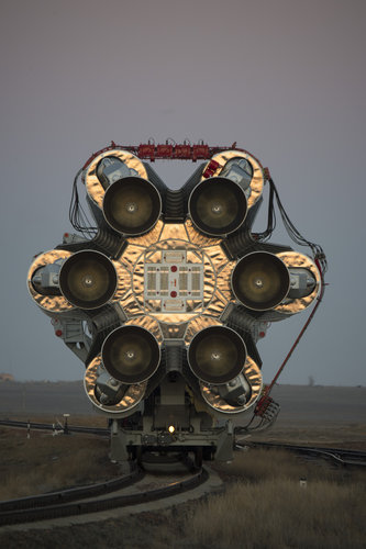 ExoMars 2016 roll out