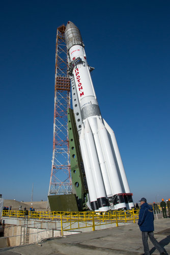 ExoMars 2016 rollout