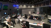 Teams at ESOC, ESA's mission control in Darmstadt, Germany, in intensive simulation training for Sentinel-1B liftoff