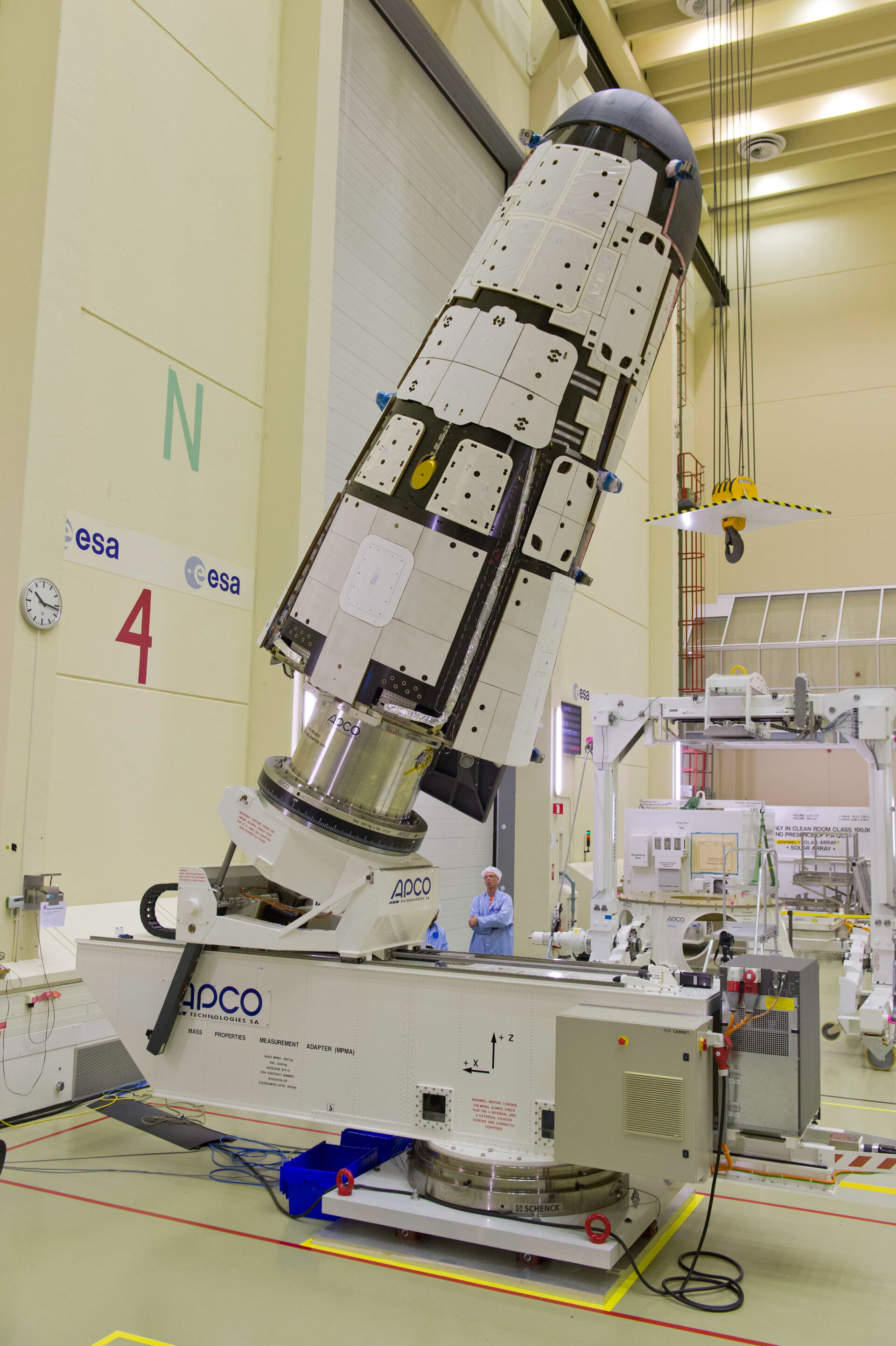 IXV having physical properties measured