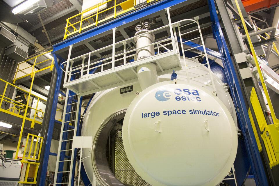 Large Space Simulator entrance