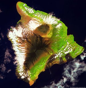 Proba-V view of Hawaii