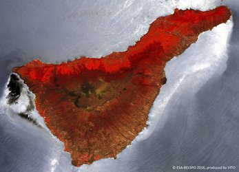 Tenerife imaged by Proba-V