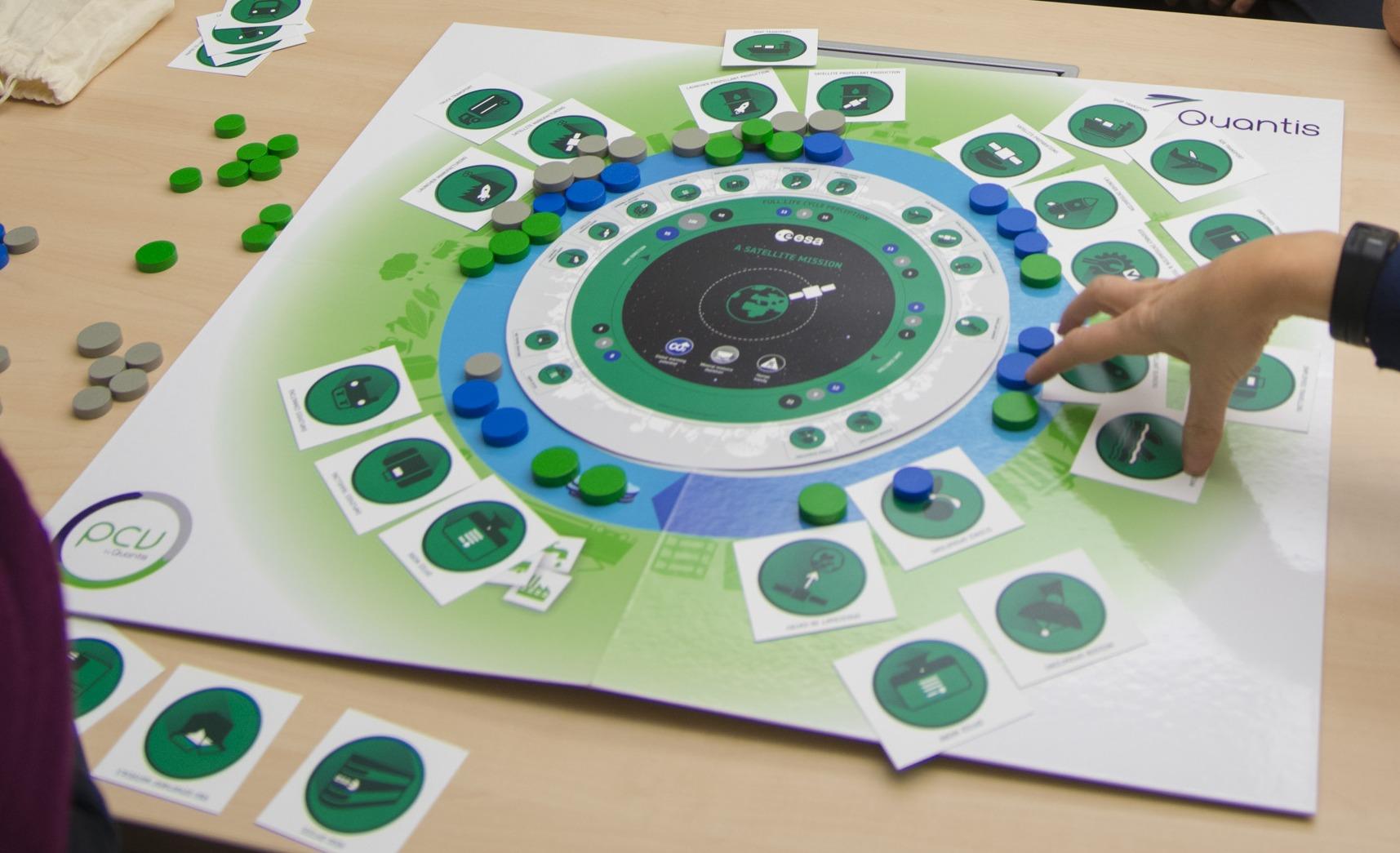 Space In Images Clean Space Board Game - Board game design