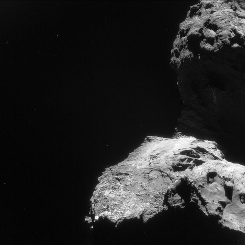 Comet on 19 April 2016 – NavCam