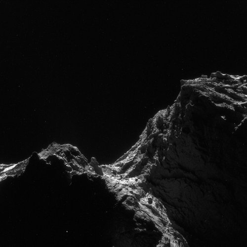 Comet on 24 April 2016 – NavCam