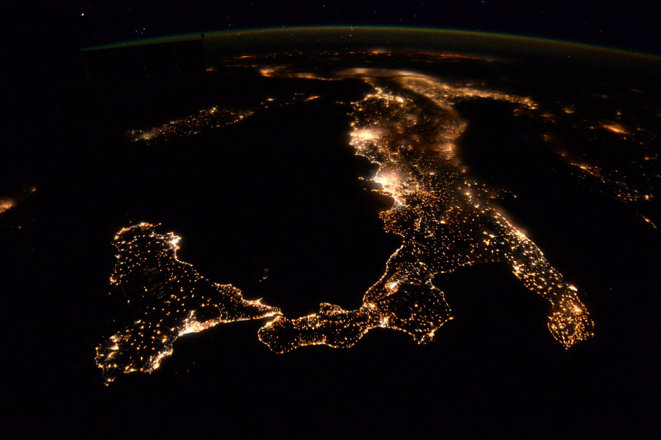 europe at night highlights principia human spaceflight our