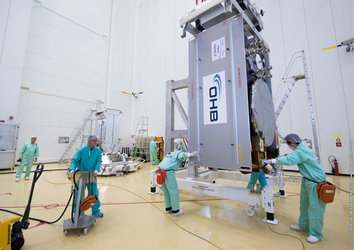 13th Galileo satellite moved to dispenser